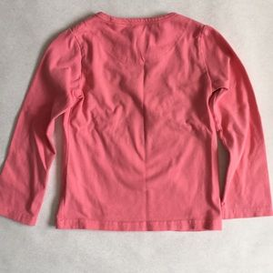 room seven Shirts & Tops - Room Seven pink Embroidered long sleeve 2T